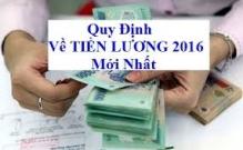 Các khoản bị trừ vào tiền lương 2016