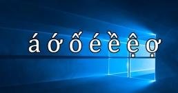 Cách gõ tiếng việt trên Windows 10