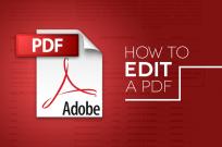 Chỉnh sửa File PDF, phần mềm sửa tập tin PDF tốt nhất