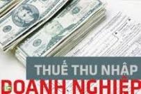 Thuế TNDN 2014