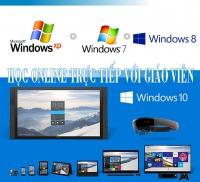 Học online - Làm chủ Windows XP - Win7 - Win 8 - Win 10