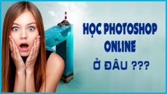 Học photoshop online ở đâu???