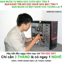 Học sửa chữa máy tính cấp tốc tại tp.HCM