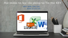Học tin học văn phòng online tại Bình Dương