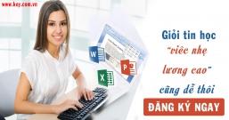 Học trực tuyến vi tính văn phòng tại Hải Phòng