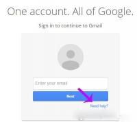 Hướng dẫn lấy lại mật khẩu Gmail