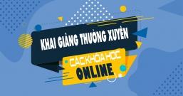 Khai giảng thường xuyên các lớp thiết kế đồ họa học online