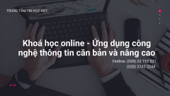 Khóa học cấp tốc tin học văn phòng online tại Đà Nẵng