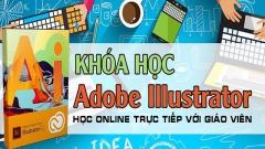 Khóa học Illustrator online cho người đi làm tại  Nghệ An