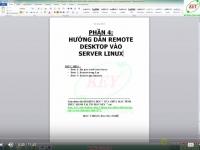 Phần 4: Remote Desktop trong Linux