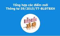 Thông tư 59/2015/TT-BLĐTBXH