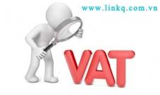 Thuế GTGT theo phương pháp khấu trừ.