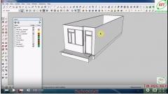 Tự học sketchup từ cơ bản đến nâng cao phần 9