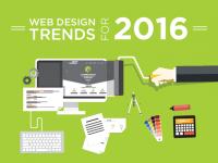 Xu hướng thiết kế website độc đáo trong năm 2016