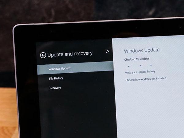 Đừng quên cập nhật Windows
