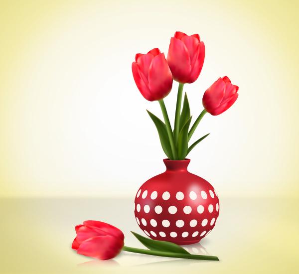 huong dan cach ve hoa tulips bang illustrator cs6