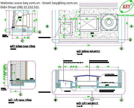 đào tạo Cad 2D triển khai kiến trúc
