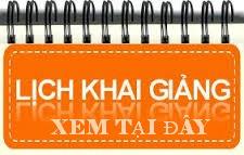 XEM LICH KHAI GIANG KHOA HOC LAP TRINH WEB