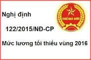 Điểm mới nghị định 122/2015/NĐ-CP