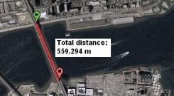 Đo khoảng cách giữa 2 địa điểm bằng php code