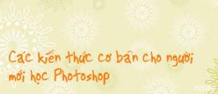 Photoshop căn bản: Chỉnh sửa ảnh ở TPHCM