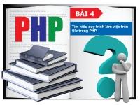 PHP cơ bản - Bài 4: Tìm hiểu cách làm việc trên file trong PHP