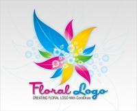 Tạo logo họa tiết bông hoa bằng CorelDRAW