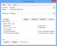 Tìm kiếm và thay thế trong Excel
