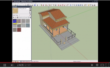 Video hướng dẫn học shetchup thiết kế nhà 3D ( Phần 3)